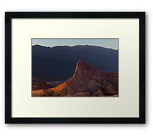 Manly Beacon at Sunset. Framed Print