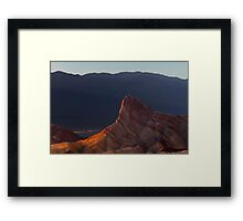 Manly Beacon at Sunset. Framed Print