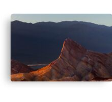 Manly Beacon at Sunset. Canvas Print