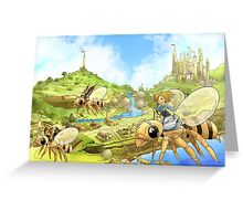 Flying out of Capira Greeting Card
