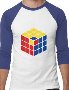 Rubik's cube Men's Baseball ¾ T-Shirt