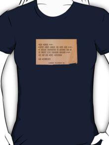 Hee Haw and Merry Christmas, Sam Wainwright T-Shirt