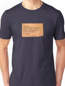 Hee Haw and Merry Christmas, Sam Wainwright Unisex T-Shirt