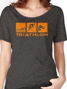 Triathlon modern icons Women's Relaxed Fit T-Shirt