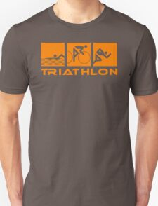 Triathlon modern icons T-Shirt