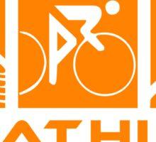 Triathlon modern icons Sticker