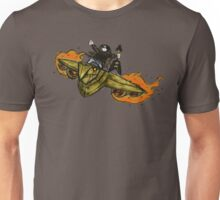 Flying on the Edge (alternate) Unisex T-Shirt