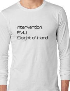 Modern Warfare 2's Intervention Long Sleeve T-Shirt