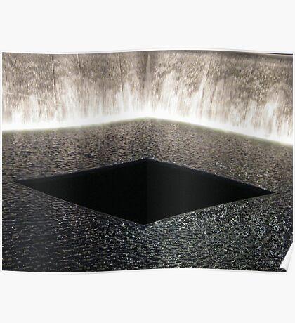 9/11 Memorial, Ground Zero, Lower Manhattan, New York City Poster