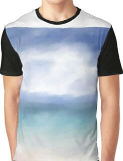Abstract Ocean Graphic T-Shirt
