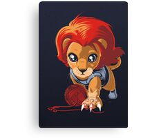 THUNDERKITTEN Canvas Print
