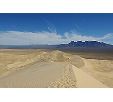 Mojave Dunes, California Photographic Print