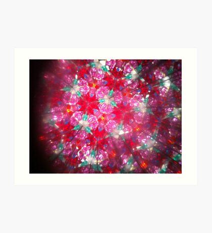 Kaleidoscope 16 Art Print