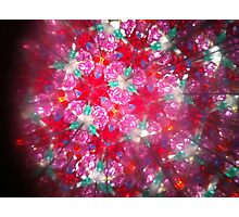 Kaleidoscope 16 Photographic Print