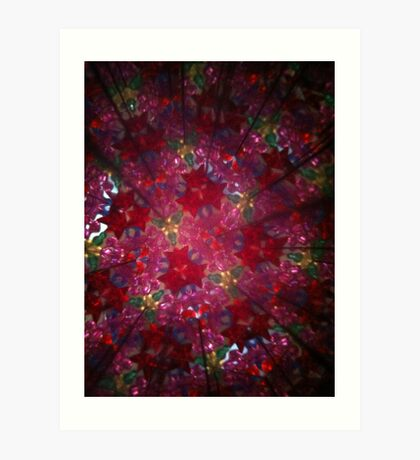 Kaleidoscope 17 Art Print
