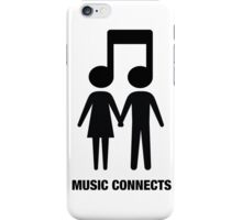 Music Connects iPhone Case/Skin