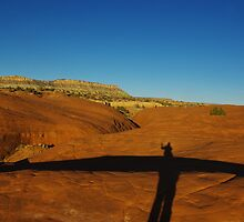 Near Devils Garden, Grand Stair Escalante National Monument, Utah by Claudio Del Luongo