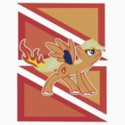 Ponymon - Charizard pony by caninesilver