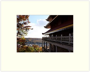 Pagoda Overlook by Jessica Petrohoy