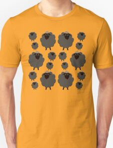 A whole herd of Black Sheep T-Shirt