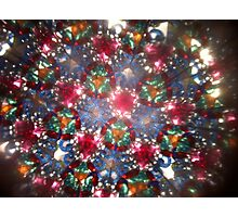 Kaleidoscope 25 Photographic Print