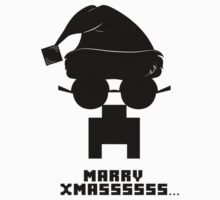 Marry Xmass Creeper  Kids Clothes
