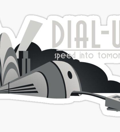 Dial Up Sticker