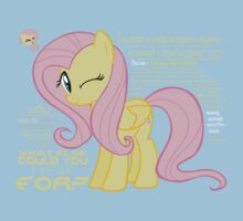 What else could anyone possibly ask for? (Fluttershy) Kids Tee