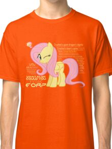 What else could anyone possibly ask for? (Fluttershy) Classic T-Shirt