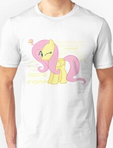 What else could anyone possibly ask for? (Fluttershy) Unisex T-Shirt