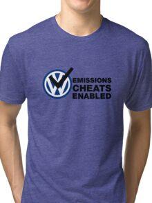VW Emissions Cheat Enabled Tri-blend T-Shirt