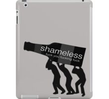 Shameless-fuck you fucking fuck iPad Case/Skin