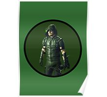 Oliver Queen - Green Arrow Poster