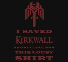 I Saved Kirkwall by DrosselTira