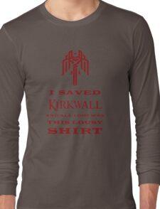 I Saved Kirkwall Long Sleeve T-Shirt