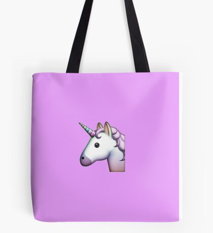 Unicorn Emoji Tote Bag