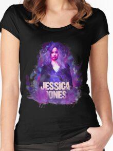 jessica jones Women's Fitted Scoop T-Shirt