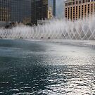 Water show at the Bellagio II by dsimon