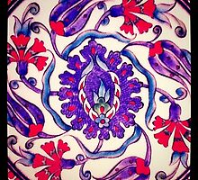 Iznik tile 2 by kturner07