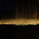 Water show at the Bellagio III by dsimon