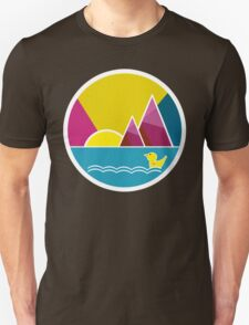 Enjoying the sunrise Unisex T-Shirt