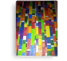 Colour Stratae Canvas Print