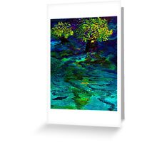Souhwood by Florida Artist John E Metcalfe Greeting Card