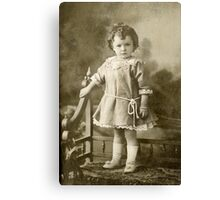 A dear little doll Canvas Print