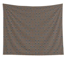 A flock of Black Sheep Wall Tapestry