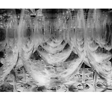 Wine Glasses Photographic Print