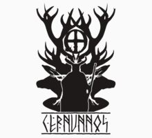 cernunnos-celtic god of the woods (dark version) by potty