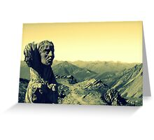 Alpine Guides Greeting Card
