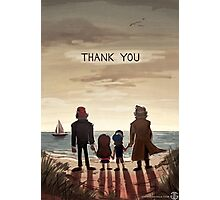 Gravity Falls - Thank You (WITH Words) Photographic Print