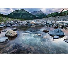 Waterton Rivers Photographic Print